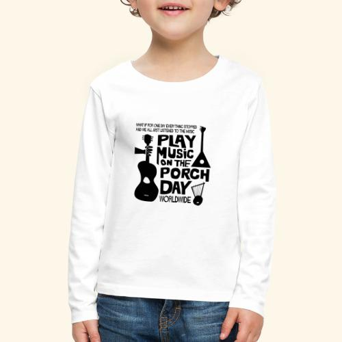 FINALPMOTPD_SHIRT1 - Kids' Premium Long Sleeve T-Shirt