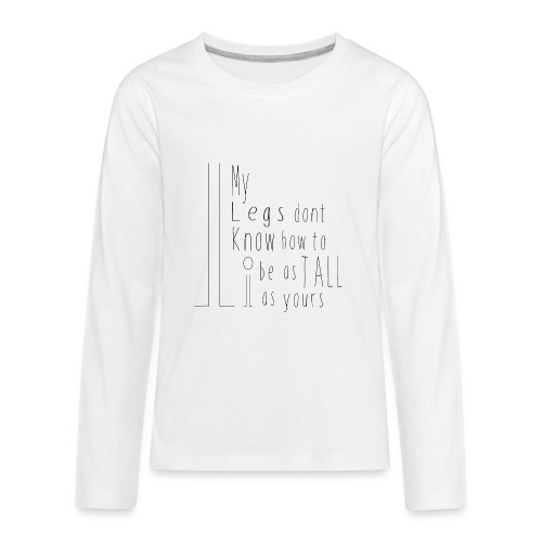My-Legs - Kids' Premium Long Sleeve T-Shirt