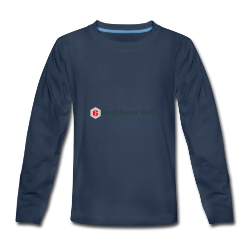 6 Brothers Deli - Kids' Premium Long Sleeve T-Shirt