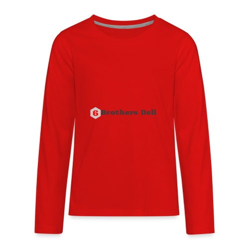 6 Brothers Deli - Kids' Premium Long Sleeve T-Shirt
