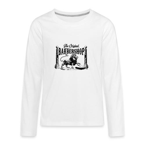 The Original Barbershop - Kids' Premium Long Sleeve T-Shirt