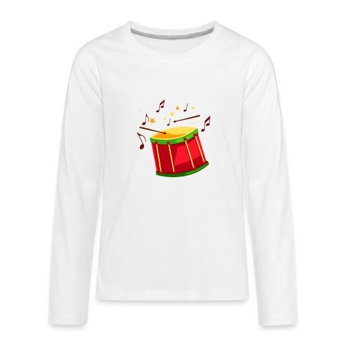 drum sticks beat - Kids' Premium Long Sleeve T-Shirt