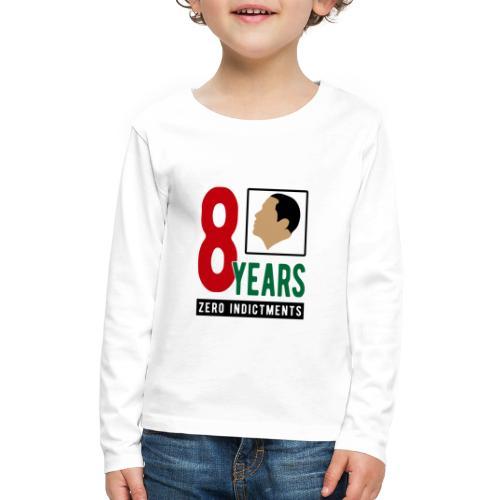 Obama Zero Indictments - Kids' Premium Long Sleeve T-Shirt
