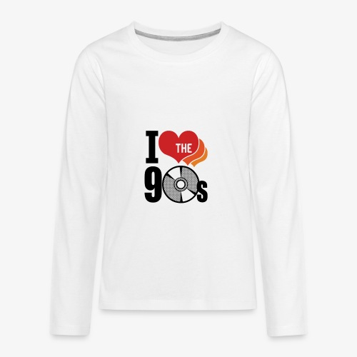 I love the 90s - Kids' Premium Long Sleeve T-Shirt
