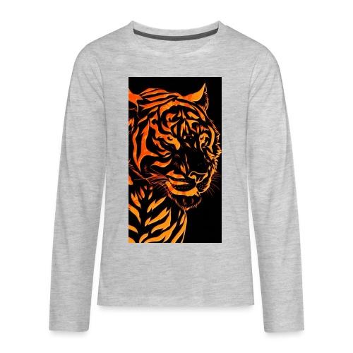 Fire tiger - Kids' Premium Long Sleeve T-Shirt