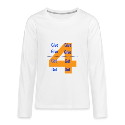 Forgive & Forget - Kids' Premium Long Sleeve T-Shirt