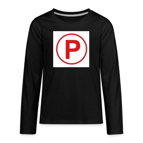 Presto569 Gaming Logo - Kids' Premium Long Sleeve T-Shirt