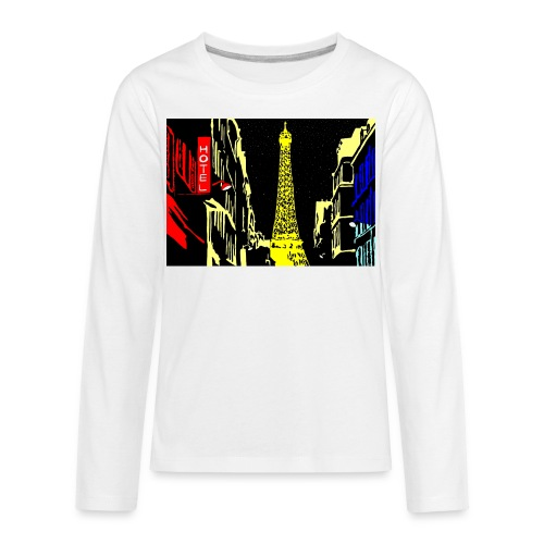 PARIS - Kids' Premium Long Sleeve T-Shirt