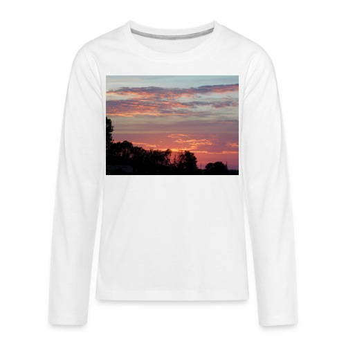 Sunset of Pastels - Kids' Premium Long Sleeve T-Shirt