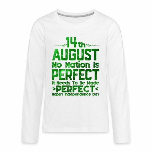 14th August Independence Day - Kids' Premium Long Sleeve T-Shirt