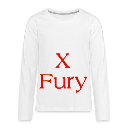 X Fury - Kids' Premium Long Sleeve T-Shirt