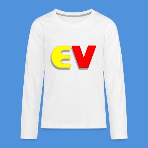 Entoro Vace Logo - Kids' Premium Long Sleeve T-Shirt