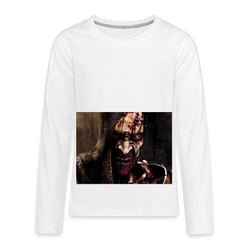 Zomby stranger - Kids' Premium Long Sleeve T-Shirt