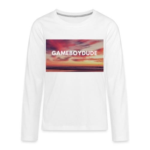 GameBoyDude merch store - Kids' Premium Long Sleeve T-Shirt