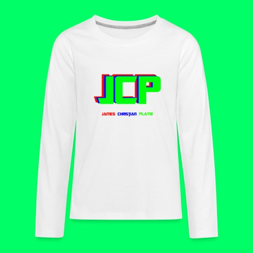 James Christian Plays! Original Set - Kids' Premium Long Sleeve T-Shirt