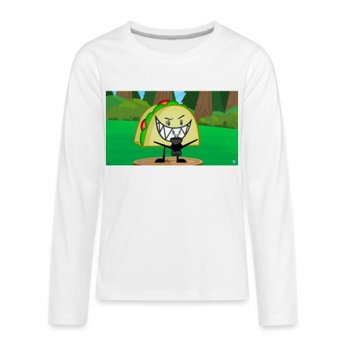 EVIL TACO ha - Kids' Premium Long Sleeve T-Shirt