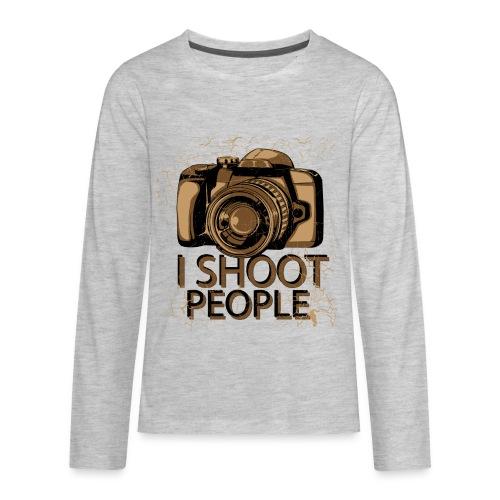 Photographer - Kids' Premium Long Sleeve T-Shirt