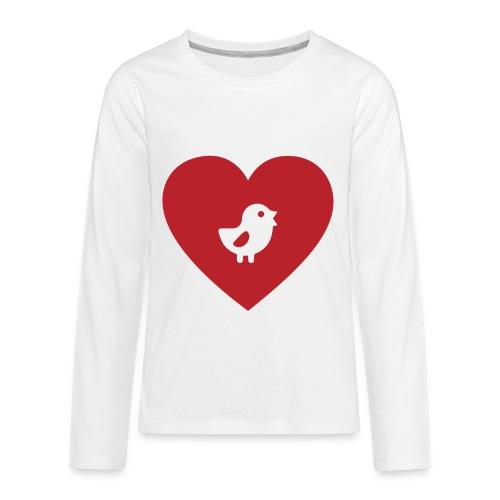 Heart Chick - Kids' Premium Long Sleeve T-Shirt