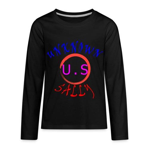 Initial Hoodie - Kids' Premium Long Sleeve T-Shirt
