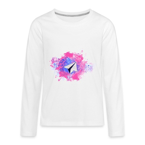 Paper Plane - Kids' Premium Long Sleeve T-Shirt