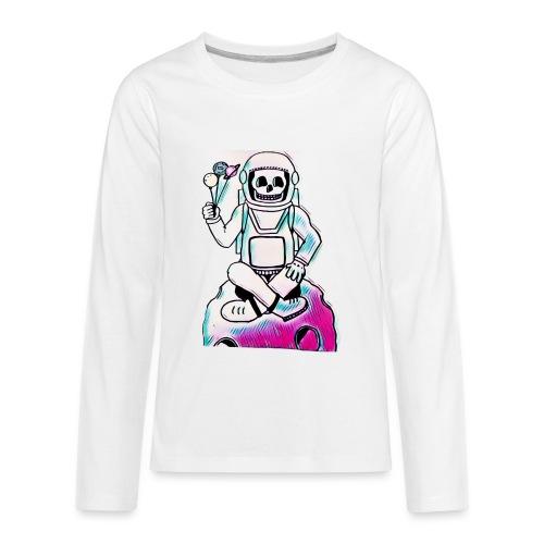 Astro Skull - Kids' Premium Long Sleeve T-Shirt