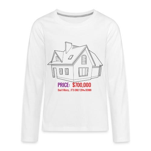 Fannie & Freddie Joke - Kids' Premium Long Sleeve T-Shirt