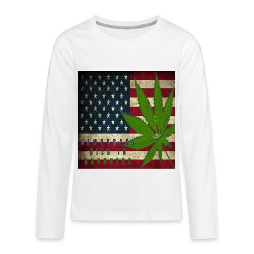 Political humor - Kids' Premium Long Sleeve T-Shirt