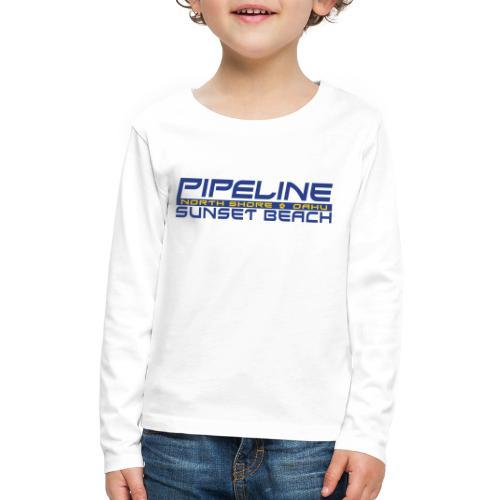 Pipeline Sunset Beach - North Shore, Oahu, Hawaii - Kids' Premium Long Sleeve T-Shirt