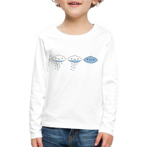 raining day - Kids' Premium Long Sleeve T-Shirt