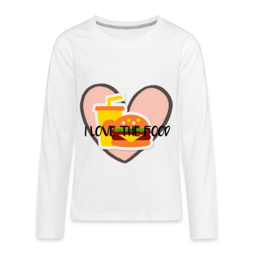 Food - Kids' Premium Long Sleeve T-Shirt
