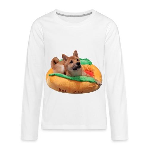 hot doge - Kids' Premium Long Sleeve T-Shirt