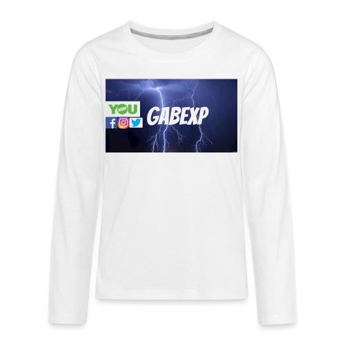 gabexp 1 - Kids' Premium Long Sleeve T-Shirt