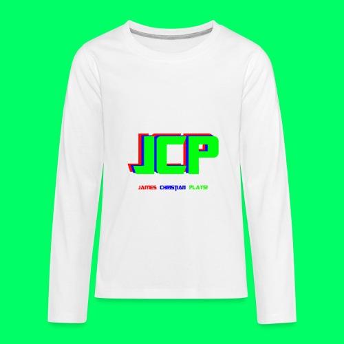 James Christian Plays! Original Set - Kids' Premium Long Sleeve T-Shirt