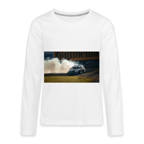 nissan skyline gtr drift r34 96268 1280x720 - Kids' Premium Long Sleeve T-Shirt