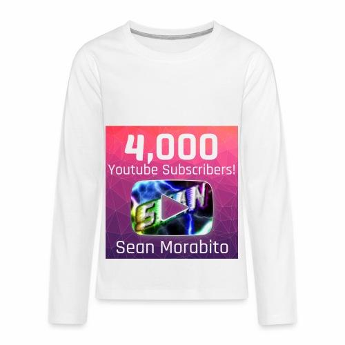 4000 Subs edited - Kids' Premium Long Sleeve T-Shirt