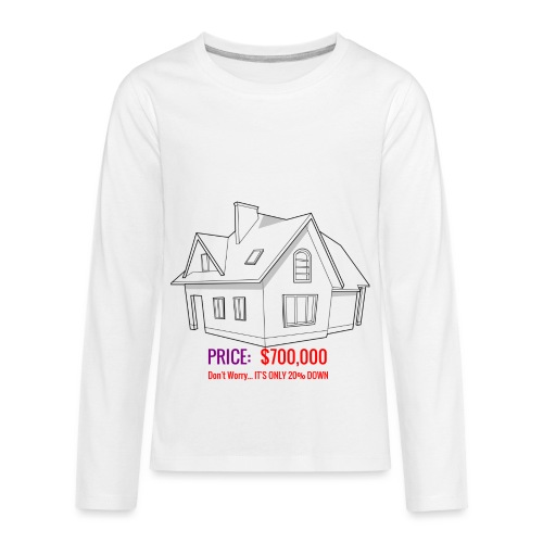 Fannie & Freddie Joke - Kids' Premium Long Sleeve T-Shirt