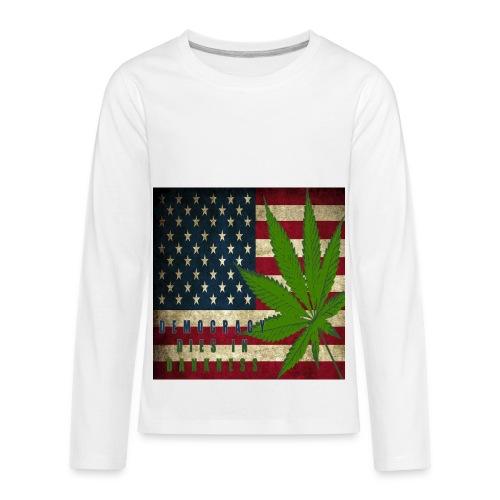 Political humor - Kids' Premium Long Sleeve T-Shirt