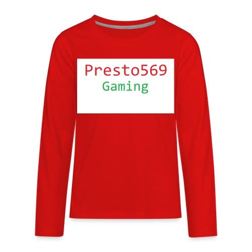 Presto569 Gaming - Kids' Premium Long Sleeve T-Shirt