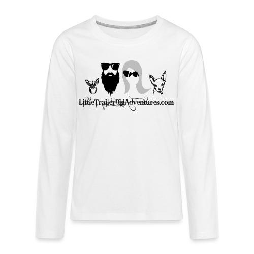 LTBA Heads Logo - Kids' Premium Long Sleeve T-Shirt