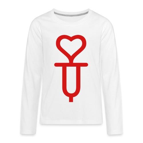 Addicted to love - Kids' Premium Long Sleeve T-Shirt