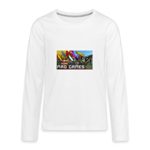 Mad freaking games - Kids' Premium Long Sleeve T-Shirt