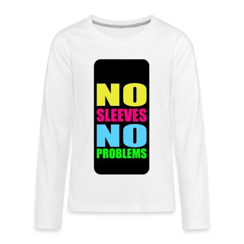 neonnosleevesiphone5 - Kids' Premium Long Sleeve T-Shirt