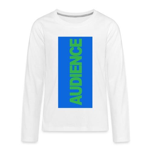 audiencegreen5 - Kids' Premium Long Sleeve T-Shirt