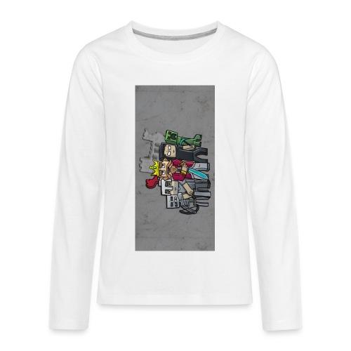 sparkleziphone5 - Kids' Premium Long Sleeve T-Shirt