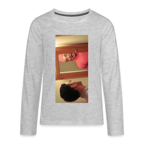 pinkiphone5 - Kids' Premium Long Sleeve T-Shirt