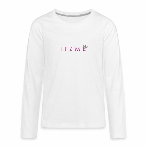 ItzMe - Kids' Premium Long Sleeve T-Shirt