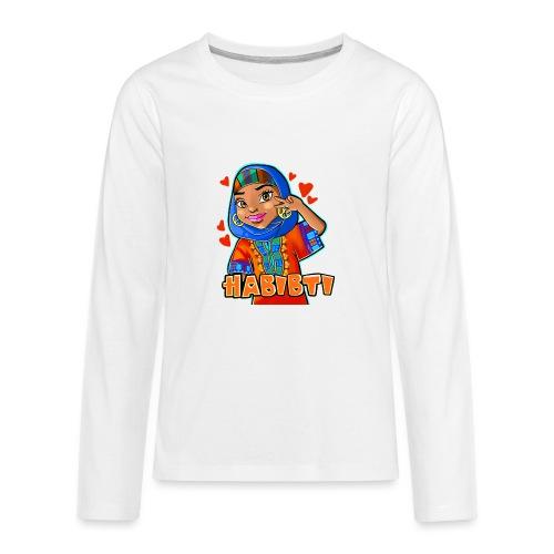 Habibti - Kids' Premium Long Sleeve T-Shirt