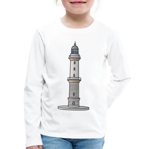 Lighthouse Warnemünde Rostock - Kids' Premium Long Sleeve T-Shirt