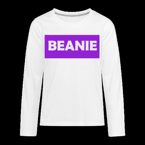 BEANIE - Kids' Premium Long Sleeve T-Shirt