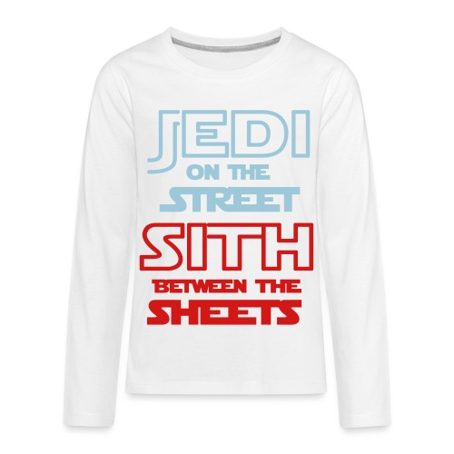 Jedi Sith Awesome Shirt - Kids' Premium Long Sleeve T-Shirt